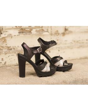 Черни дамски елегантни сандали 202/15493 202/15493 в online магазин Fashionzona