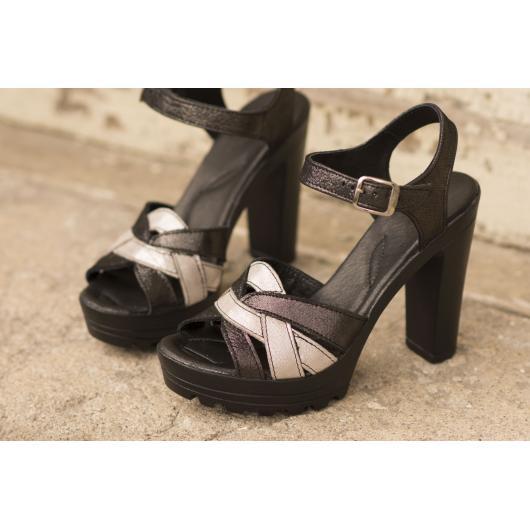 Черни дамски елегантни сандали Harleigh