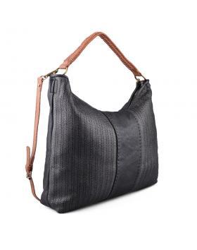 Черна дамска ежедневна чанта 0134271 в online магазин Fashionzona