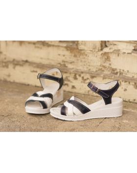 Бели дамски ежедневни сандали 202/18206 202/18206 в online магазин Fashionzona