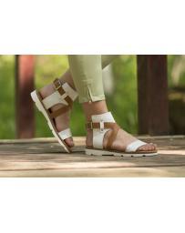 Бели дамски ежедневни сандали allida11 Destine Beulah