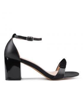 Черни дамски елегантни сандали 0133647 в online магазин Fashionzona