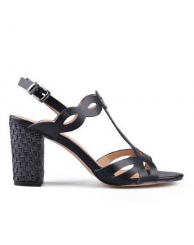 Черни дамски елегантни сандали 0133735 в online магазин Fashionzona