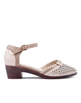 Бежови дамски ежедневни сандали 0133696 в online магазин Fashionzona