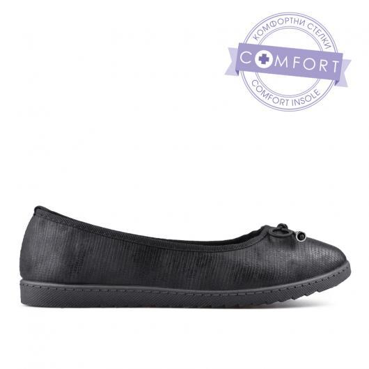 Черни дамски ежедневни обувки Benny