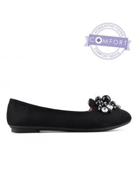 Черни дамски ежедневни обувки 0133507 в online магазин Fashionzona