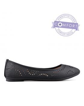 Черни дамски ежедневни обувки 0133504 в online магазин Fashionzona