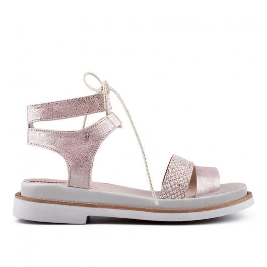 Розови дамски ежедневни сандали Amari