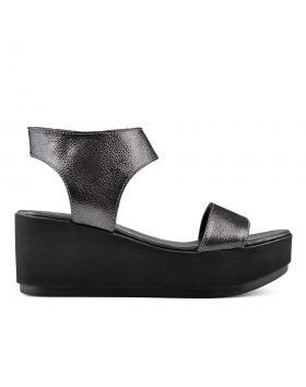 Дамски ежедневни сандали черни 0135017 в online магазин Fashionzona