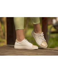 Бели дамски ежедневни обувки 0134983