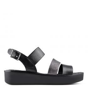 Черни дамски ежедневни сандали 0135035 в online магазин Fashionzona