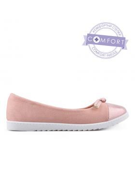 Розови дамски ежедневни обувки 0133512 в online магазин Fashionzona