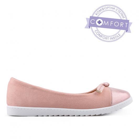 Розови дамски ежедневни обувки Vitia