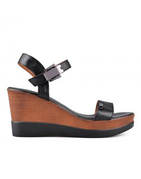 Черни дамски ежедневни сандали 0135005 в online магазин Fashionzona