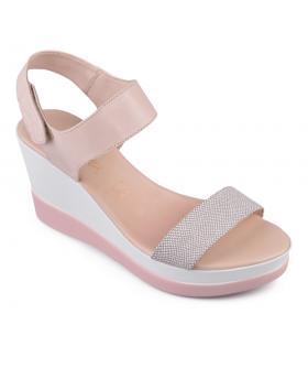 Бежови дамски ежедневни сандали Dayanira в online магазин Fashionzona