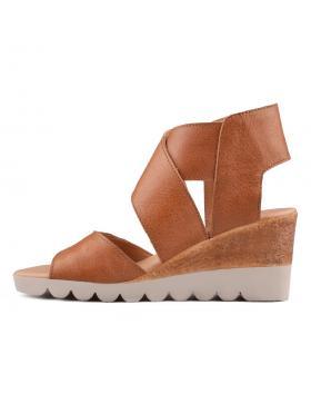 Кафяви дамски ежедневни сандали Chameli в online магазин Fashionzona