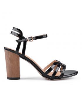 Черни дамски елегантни сандали Laine в online магазин Fashionzona