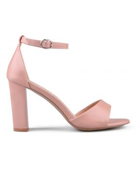 Розови дамски елегантни сандали 0133643 в online магазин Fashionzona