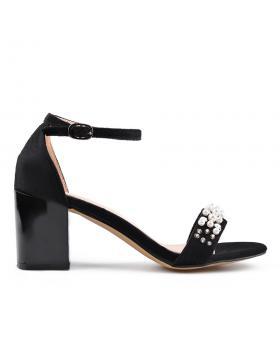 Черни дамски елегантни сандали 0133628 в online магазин Fashionzona