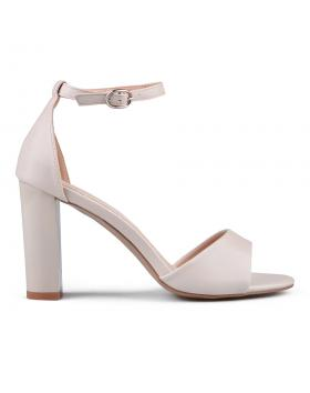 Бежови дамски елегантни сандали 0133642 в online магазин Fashionzona