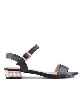 Черни дамски елегантни сандали 0133861 в online магазин Fashionzona
