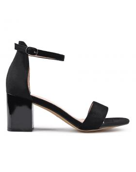 Черни дамски елегантни сандали 0133634 в online магазин Fashionzona