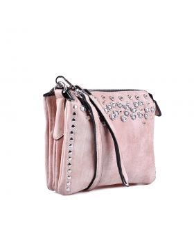 Розова дамска ежедневна чанта 0134342 в online магазин Fashionzona