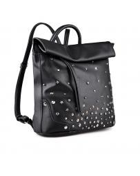 Черна дамска раница Meena в online магазин Fashionzona