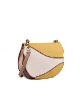 Бежова дамска чанта 0134289 в online магазин Fashionzona