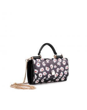 Черна дамска ежедневна чанта 0134326 в online магазин Fashionzona