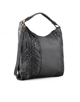 Черна дамска ежедневна чанта 0134284 в online магазин Fashionzona