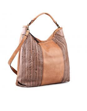 Кафява дамска ежедневна чанта 0134285 в online магазин Fashionzona