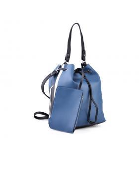 Синя дамска ежедневна чанта 0134246 в online магазин Fashionzona