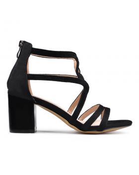 Черни дамски елегантни сандали 0133630 в online магазин Fashionzona