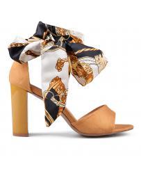 Жълти дамски елегантни сандали Belisse