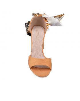 Жълти дамски елегантни сандали Belisse в online магазин Fashionzona