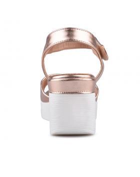 Златисти дамски ежедневни сандали Bette в online магазин Fashionzona
