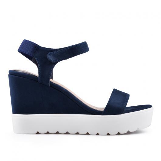 Сини дамски ежедневни сандали Austyn