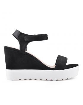 Дамски ежедневни сандали черни 0134352 в online магазин Fashionzona