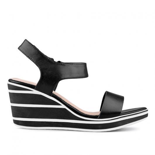 Черни дамски ежедневни сандали Marjorie