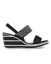 Черни дамски ежедневни сандали Acelin