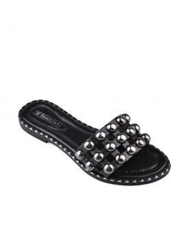 Черни дамски ежедневни чехли Narissa в online магазин Fashionzona