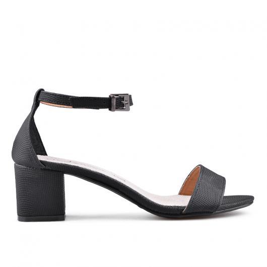 Черни дамски елегантни сандали Aida