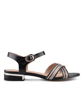 Черни дамски ежедневни сандали 0133774 в online магазин Fashionzona