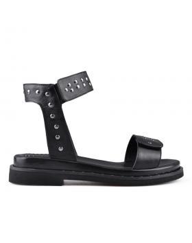 Черни дамски ежедневни сандали 0135038 в online магазин Fashionzona