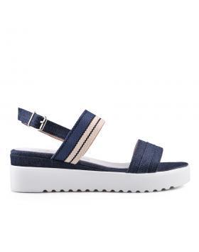 Черни дамски ежедневни сандали 0134530 в online магазин Fashionzona