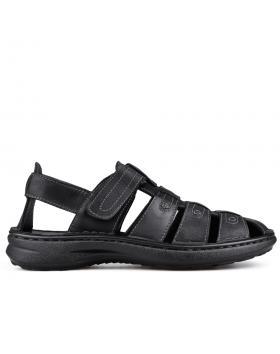 Черни мъжки сандали 0133575 в online магазин Fashionzona