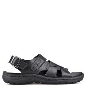 Черни мъжки сандали 0133584 в online магазин Fashionzona