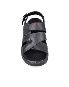 Черни мъжки сандали Felipe в online магазин Fashionzona