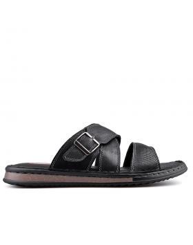 Черни мъжки чехли 0133582 в online магазин Fashionzona